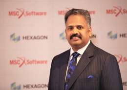 Sridhar Dharmarajan (DS), MSC Software Corporation- High Res
